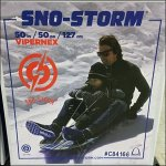 Double Helping Sno-Storm Sled Merchandising