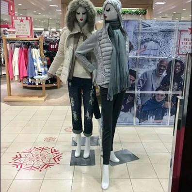 Winter Mannequin Mascara Makeup at Macys