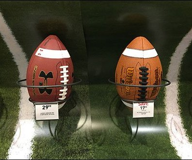 Wrap Around Football Field Football Display