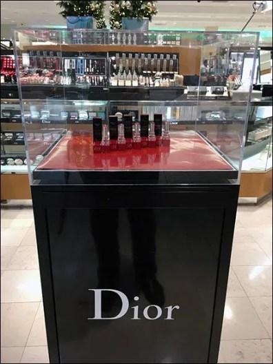 Dior Branded Lipstick Pedestal Museum Case