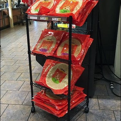 Flatbread Pizza Shelf Rack