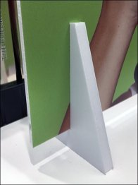 Foamcore Sign Stand Is Foamcore Itself