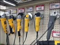 Grinder Specialty Hooks for Pegboard