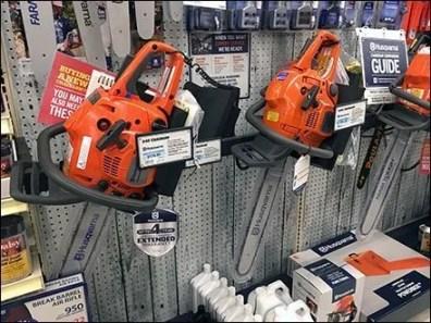 Husqvarna Chain Saw Bar Merchandiser Holster
