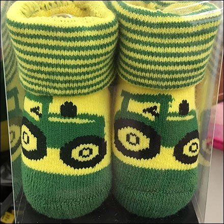 John Deere Infant Socks PowerWing Feature