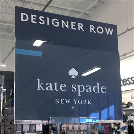 Kate Spade Designer Row Table Sign Stand