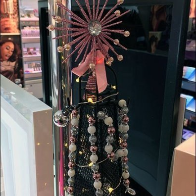 Lancome Eiffel Tower Display