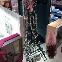 Lancome Eiffel Tower Display