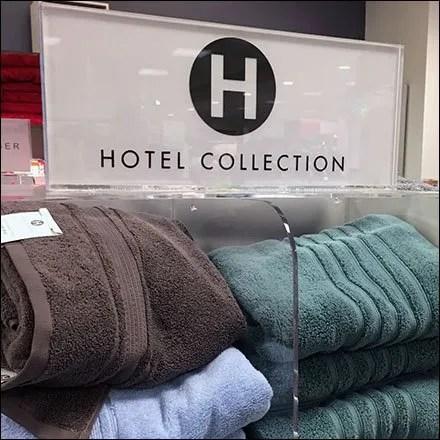 Hotel Plush Spa Towel Display