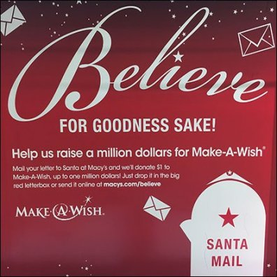 Write Santa and Make A Wish at Macys