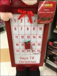 Santa's Magnetic Christmas Countdown Calendar
