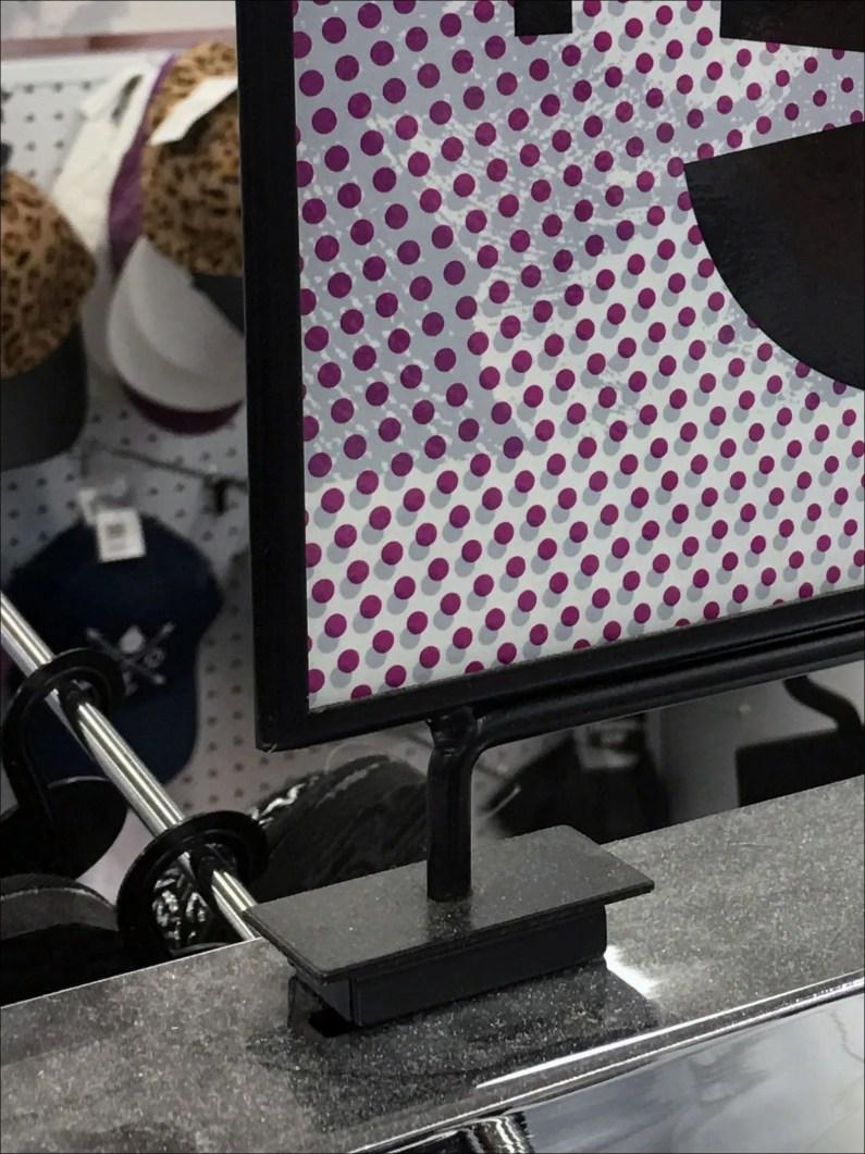 Magnetic Median Foamcore Sign Frame