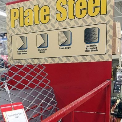 Welded Metal and Plate Steel Spare Parts