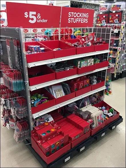 Stocking Stuffer Bargain Bulk Bins at Michaels