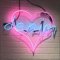 Love Denim Jean Neon Signing