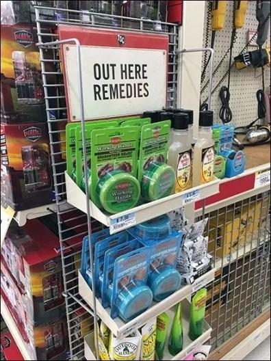 Anti-Monkey Butt PowerWing Merchandising