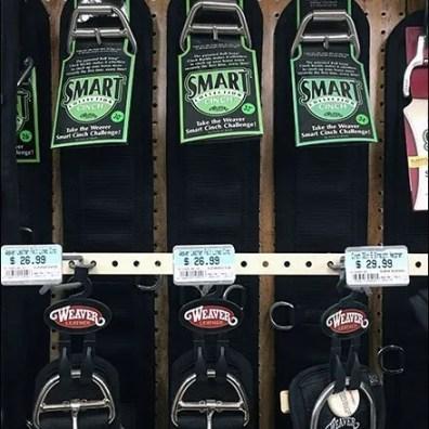 Horse Cinch Extender Bar Merchandising