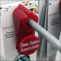 Swarovski Crystal Anti-Theft Anti-Sweep Strategy