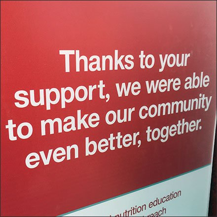 Target Montage Celebrates Charitable Contributions Feature