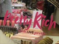 Too Faced Rich Suitcase Display