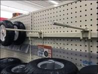 Tractor Wheel Plug-In Bar Hook Display