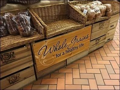 Whole Grains Healthier Life Display