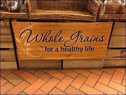 Whole Grain Healthy Life Island Display