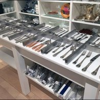 Cutlery Display Groupings by Williams Sonoma