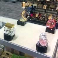 Womens Fragrance Testers Runway of Perfume Samples