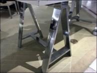 Metal Plated Sawhorse Ugg Table-Top Display