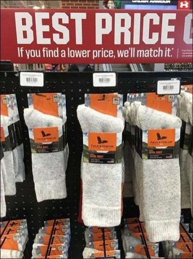 Field & Stream Price Guarantee