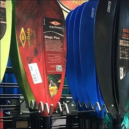 Undulating Slatwire Kayak Paddle Utility Hook
