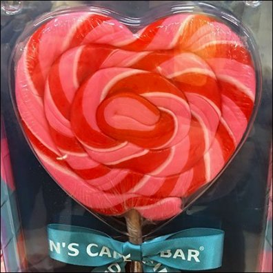 Dylan's Candy Bar Valentine's Day Sucker Sqaure1