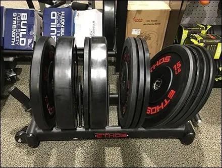 Ethos Cast Iron Weight Plate Floor Rack
