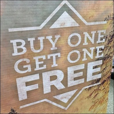 Buy One Sock Get One Sock Free BOGO
