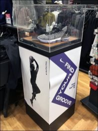 Your Groove Museum Case Display