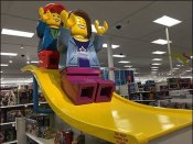 Do Not Hang or Climb On Legos Warning