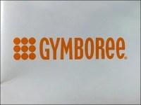 Gymboree Logo Mushroom Finial Slatwall Faceouts Shelf Supports