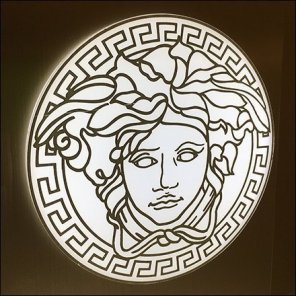 Lord & Taylor Versace Medusa Counter-Top Fragrance Display Square1