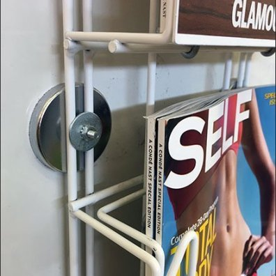Magnetic Magazine Rack Literature Holder