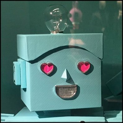 Tiffany Mr. Roboto Wall Niche Merchandising