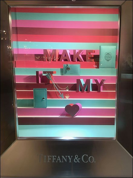 Tiffany My Heart Niche Window Dressing