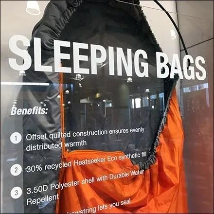 North-Face Sleeping-Bags Sleep Standing Up