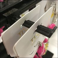 Fashion Jewelry Plastic Butterfly T-Bar Hooks
