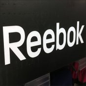 Reebok Corrugated Display