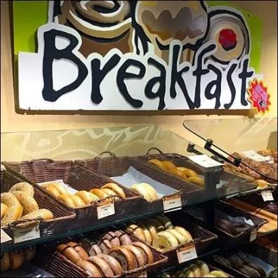 Breakfast Bakery Sneeze Guard Equipped