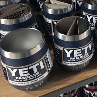 Yeti Premium Drinkware Twin Tower Display