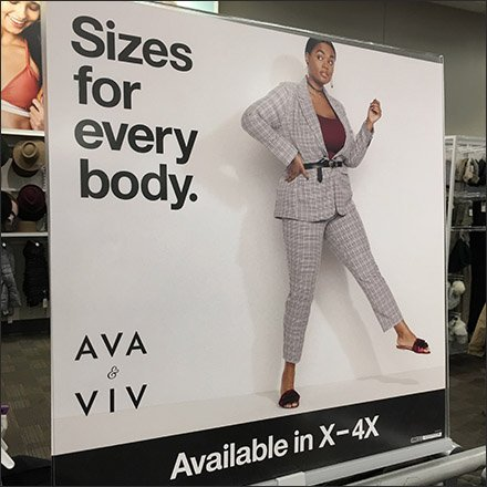 Ava & Viv Sizes for Every Body X to 4X Feature