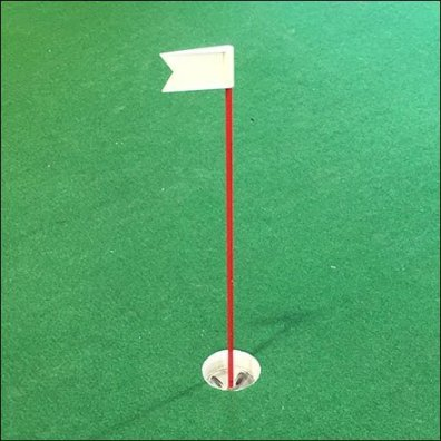 Dicks In-Store Indoor Golf Putting Green Feature