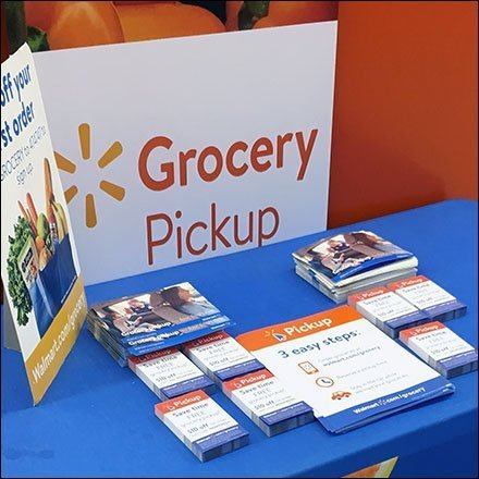 Free Curbside Pickup In-Store Promotion